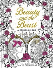 Beauty and the Beast: A Coloring Book - Silver Dolphin