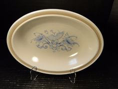 "Royal Doulton Inspiration Oval Serving Bowl 10 1/2"" LS1016 EXCELLENT #RoyalDoulton"