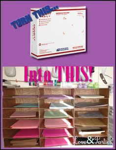 love u0026 parties diy paper sorter under 5
