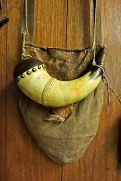 Bushcraft, Shooting Bags, Longhunter, Powder Horn, Fur Trade, Mountain Man, Leather Pouch, Middle Ages, Leather Craft