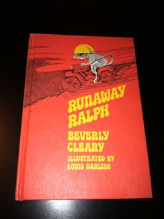 Runaway Ralph 1970 Beverly Cleary Vintage Hardcover Book  on Etsy, $5.00