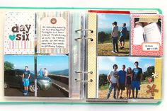 deb duty papercrafting: vacation album: part two