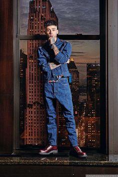 El ídolo de una nueva generación, Zayn Malik, se convierte en protagonista del número de febrero de ELLE India, en fotos de Ricardo Abrahao con el estilismo de Rahul Vihay