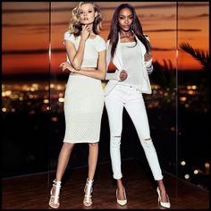 Our Stylist Loves: White Hot | Sporting a head-to-toe hue is one of the easiest ways to get a clean, bold look. Which is why this spring, we're ditching the drabs of winter and going white-hot monochrome. #Express #fashion