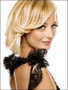 nicole richie hairstyles   Nicole Richie Gorgeous Hairstyle Looks - Styles Hub