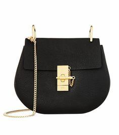 Chloé Drew Medium Textured-Leather Shoulder Bag ($1850)