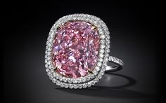 Estimated at $28 Million Dollars one of the most beautiful and most expensive pink diamonds is coming to the auction - 16.08 carat pure vivid pink diamond