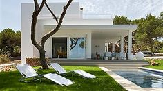 Una casa de vacaciones en Menorca...