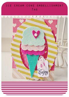 enjoy ice-cream tag