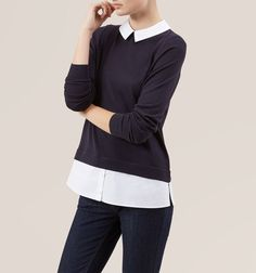 Blue Milly Sweater | Jumpers | Knitwear | Hobbs