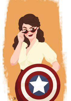 Marvel Dc Comics, Marvel Avengers, Marvel Fan Art, Marvel Women, Marvel Girls, Marvel Heroes, Marvel Characters, Marvel Movies, Peggy Carter
