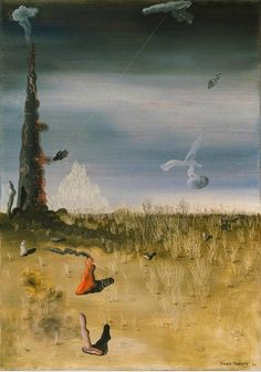 The Extinction of Useless Lights by Yves Tanguy, 1927. Oil on canvas