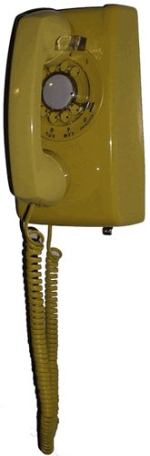 our first apartment had a wall phone in the kitchen that looked like this!