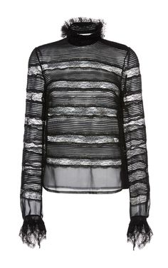 Sondra Layered Lace Blouse by ISABEL MARANT for Preorder on Moda Operandi