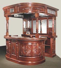 Custom Bar - Designed From Antiquity - CBJ0533 : Custom Doors, Gates, Furniture, Pool Tables, Lighting & Hardware Handmade In USA | Since 1913, Art Factory