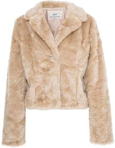 Designer Clothes, Shoes & Bags for Women Faux Fur Jacket, Fur Coat, Cute Lounge Outfits, Fashion Shoot, Stoner, Outerwear Jackets, Christmas Outfits, Coats, Polyvore