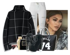 """""""feeling trendy"""" by bitchgotswagg ❤ liked on Polyvore featuring Frame Denim, Chicwish, Givenchy, Rolex and Chanel"""