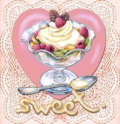 """Sweet Ice Cream Sundae""   Ice cream, You scream ♥   Pinterest)"