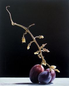 """So da dove vengo e dove vado"" Oil on canvas - oilio su tela 30 x 40 cm 2005 Photo Food, Classical Realism, Still Life Fruit, Fruit Painting, Still Life Photos, Pen Art, Elements Of Art, Still Life Photography, Light Painting"