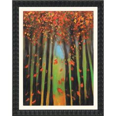 I+pinned+this+Colors+Of+Fall+Framed+Wall+Art+II+from+the+Fall+Into+Place+event+at+Joss+and+Main!