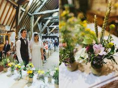 Ben de Lisi for a High Street Bride and her Delightful DIY Spring Barn Wedding | Love My Dress® UK Wedding Blog