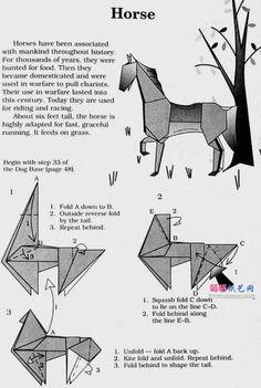Origami Horse Ile Ilgili Gorsel Sonucu