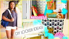 DIY Locker Decorations for Middle School or High School!