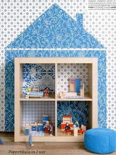 Ikea hack: van open kast naar poppenhuis - Roomed | roomed.nl