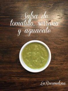Una salsa buenísima para acompañar tus platillos. #LaRecomelona #FoodBlogger #Salsas