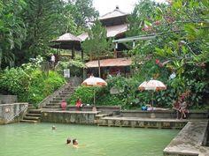 Горячие минеральные источники на Бали