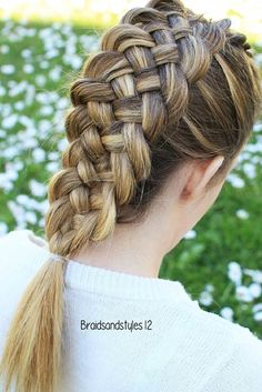 Styling Options for Double Dutch Braids ★ See more: http://lovehairstyles.com/cute-dutch-braids/