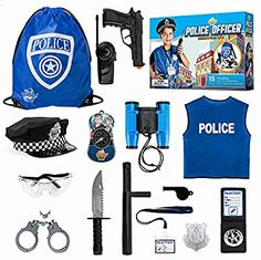 Swat Gear, Police Gear, Cop Costume For Kids, Police Officer Costume, Cotton Candy Party, Kids Police, Armas Ninja, Beading For Kids