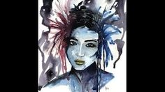 Meg Hawkins Illustrations - YouTube Speed Paint, Watercolour, Illustrations, Youtube, Painting, Fictional Characters, Art, Pen And Wash, Art Background