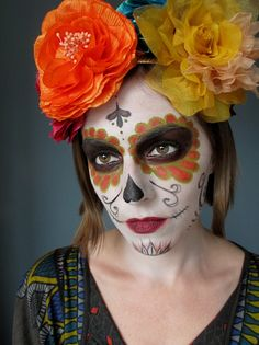 day of the dead - don't know why but I love all thing Mexican style for day of the dead!