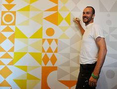 modern murals   The Happy Collective Blog - San Francisco Interior ...