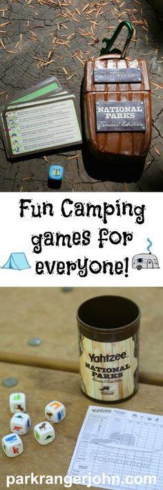Fun Camping Games fo