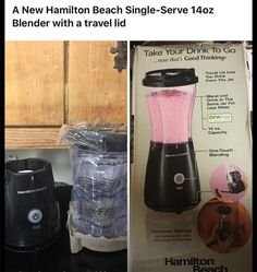 AUCTION*AUCTION*AUCTION MERCY LANGFORD AUCTIONEER: AU004238 A207  Brand New! Hamilton beach single serve 14oz blender with travel lid. Bid increments of at least $1.00 or more.Auctions end Saturday at 7:00pm.  All bids marked one minute after ending time are late. There is a 10% buyers premium and 7up % sales tax added on to the winning bid. ITEMS MUST BE PICKED UP WITHIIN SEVEN DAYS.. NO EXCEPTIONS. Please read our rules before bidding. All sales final!