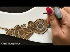 LEARN HENNA TATTOO MEHNDI ART ONLINE   BEST ONLINE MEHENDI TUTORIALS FOR BEGINNERS - YouTube Mehndi Art, Henna Mehndi, Henna Art, Mehendi, Basic Mehndi Designs, Mehandi Designs, Henna For Beginners, Mehndi Video, Churidar Designs
