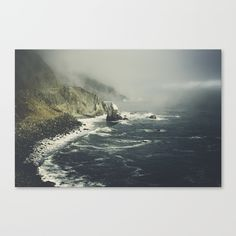 Pacific Coast Way Canvas Print by Hraun Photography | Society6