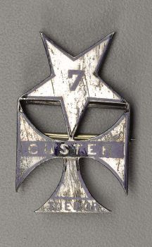 Civil War, Seventh Cavalry Regimental Badge - Custer