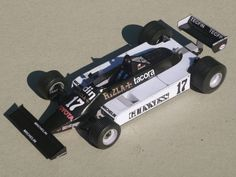 F1 Paper Model - 1981 GP San Marino March 811 Paper Car Free Template Download…