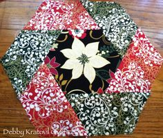 It's Day 2 of our Christmas in July blog hop, and our friend Debby Kratovil from Debby Kratovil Quilts is sharing her gorgeous twisted h...