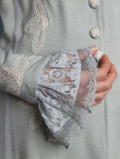 Lace cuffs by April Cornell