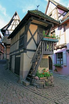 The Dovecote, Eguisheim, Alsace, France