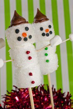 Delight Gluten Free Magazine | Recipes - Marshmallow Snowmen