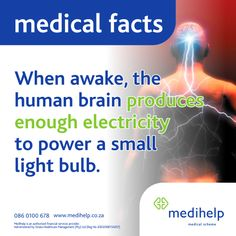 Need a medical aid? Medihelp Medical Scheme has ten plans to choose from. Medical Facts, Human Body, Did You Know, Fun Facts, How To Plan, Instagram Posts, Trivia, Funny Facts