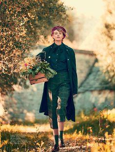 Frida Gustavsson for ELLE Sweden August 2015 - Acne