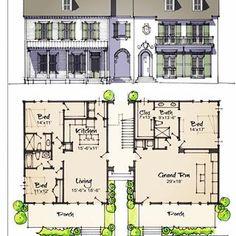 4 units on the neighborhood edge. Historical Architecture, Architecture Plan, Residential Architecture, Town House Floor Plan, House Plans, Urban Design Plan, Plan Design, Apartment Design, Apartment Ideas