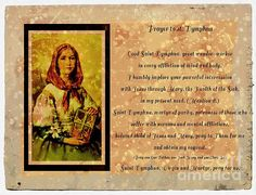 Prayer to St. Dymphna 2 by Barbara Griffin. A prayer to young St. Dymphna for good nervous and mental health. Christian Wife, Christian Quotes, St Dymphna, Art Quotes, Quote Art, Night Prayer, Power Of Prayer, Christianity, Catholic