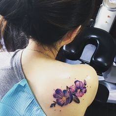 Violet Tattoo by janexnnnnn